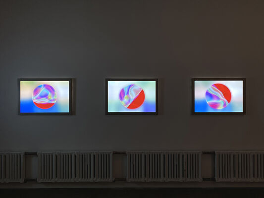 """Cate Woodruff: """"Light Minded"""", installation view"""