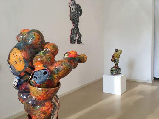 En Iwamura - Ceramic Sculptures, installation view