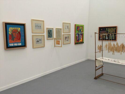 Baró Galeria at Frieze New York 2016, installation view