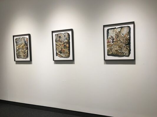 "Gerry Bergstein ""Skeleton Crew"", installation view"