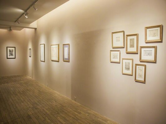 Drawings by Modern Masters, installation view