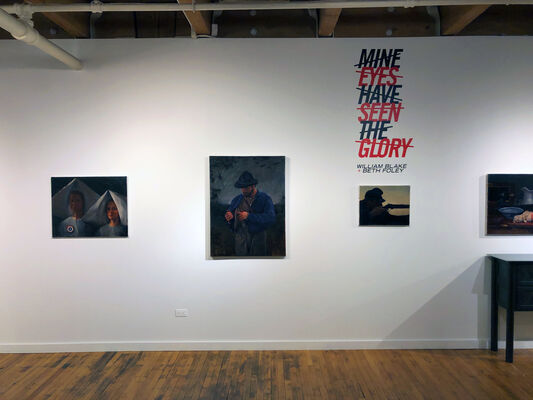 Mine Eyes Have Seen the Glory, installation view