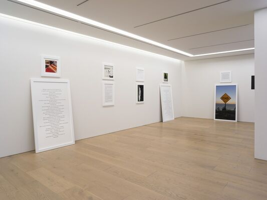 "SOPHIE CALLE, ""MY MOTHER, MY CAT, MY FATHER, IN THAT ORDER"", installation view"