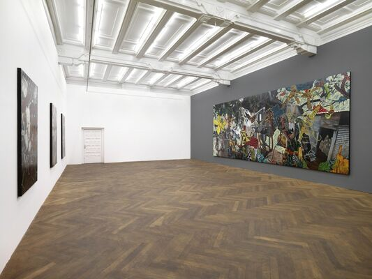 ARNDT Berlin | RODEL TAPAYA | The Chocolate Ruins, installation view
