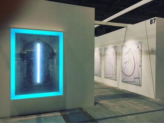ArtSvit at Cosmoscow 2015, installation view