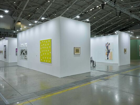White Cube at Taipei Dangdai 2019, installation view