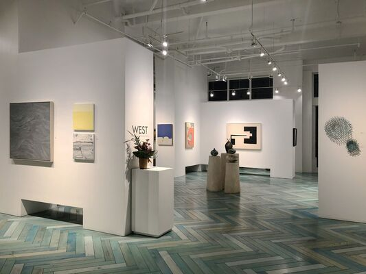 WEST - The Effect of Land and Space, installation view