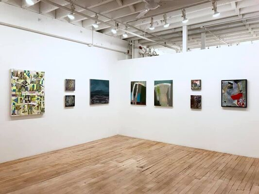 The Unusuals, installation view