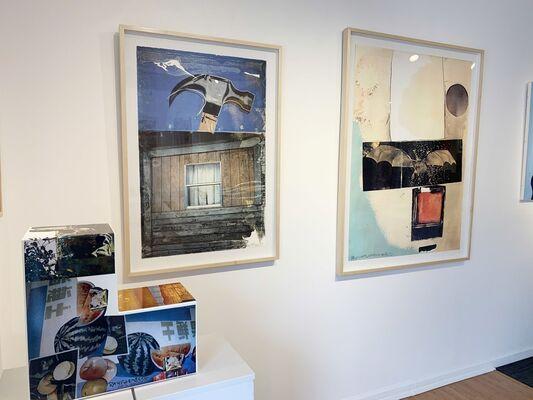"""HS ART NEWS: Featured Artist """"Robert Rauschenberg"""", installation view"""