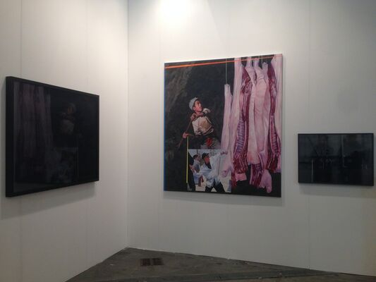 Primo Marella Gallery at Artissima 2016, installation view