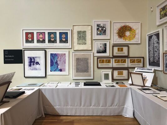 23rd McNay Print Fair, installation view