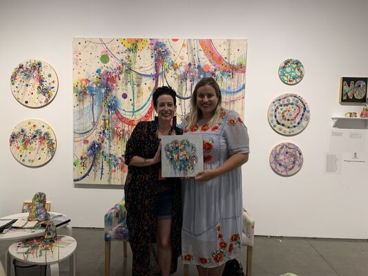 Phylogeny Contemporary at Seattle Art Fair 2019, installation view