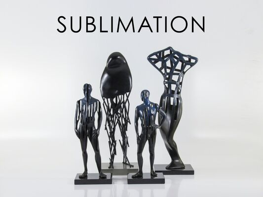"""""""Sublimation"""" by Andre Stead, installation view"""