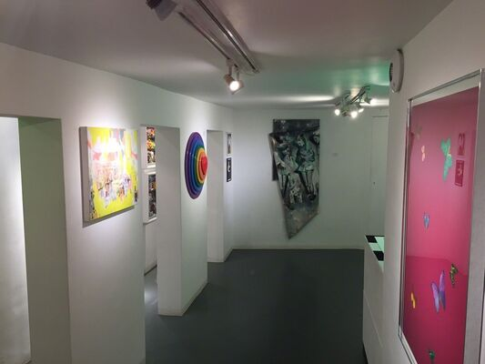 MIX: Winter Group Show, installation view