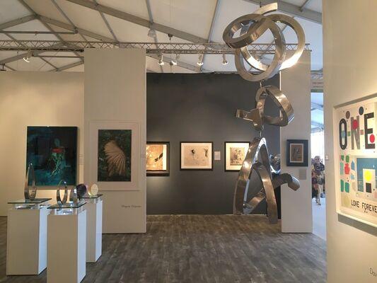 Long-Sharp Gallery at Art Miami 2018, installation view