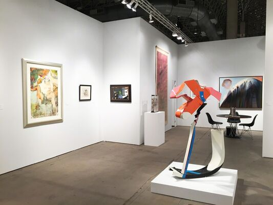 Allan Stone Projects at EXPO CHICAGO 2016, installation view