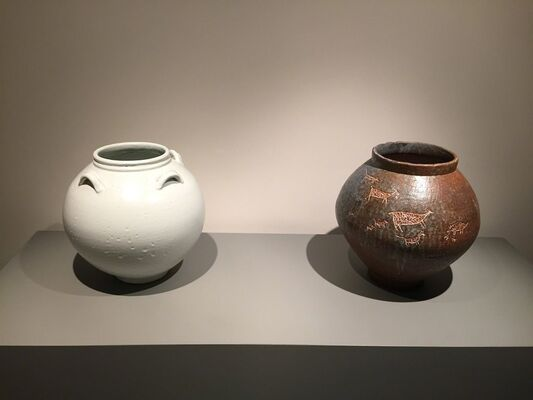 Body and Spirit: Moon Jars by Boo Won Park, installation view