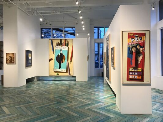 Now Showing, installation view