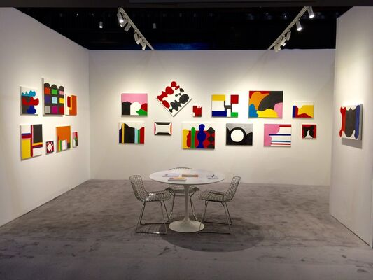 Tibor de Nagy at ADAA: The Art Show 2016, installation view