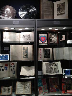 Ursus Books & Prints at IFPDA Print Fair 2014, installation view