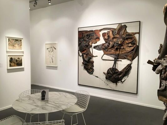 Michael Rosenfeld Gallery at Frieze Masters 2016, installation view