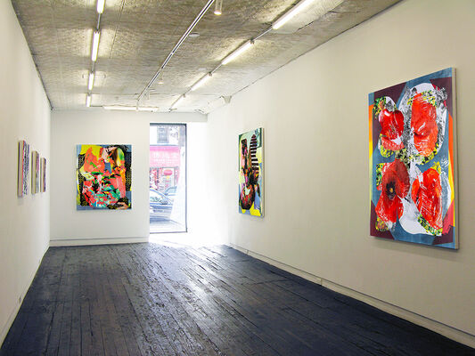 Burning Out, installation view