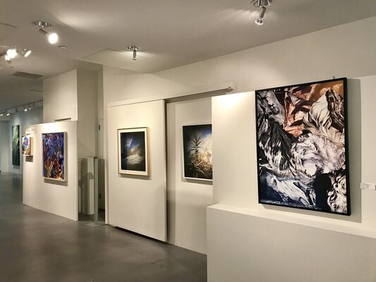 She, installation view