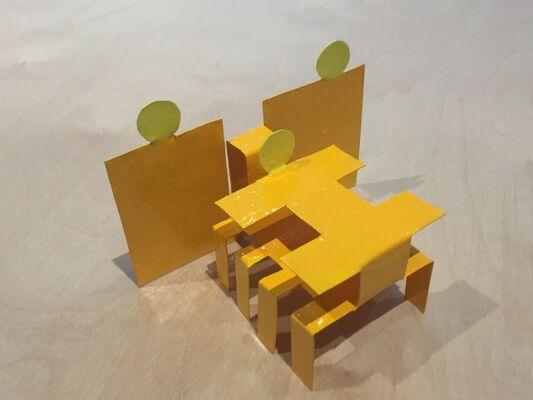 Chris Macdonald: Recent Sculpture, installation view