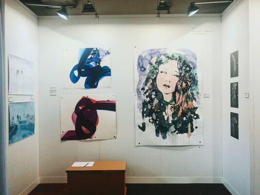 GALERIE VON&VON at Paper Positions Basel 2018, installation view