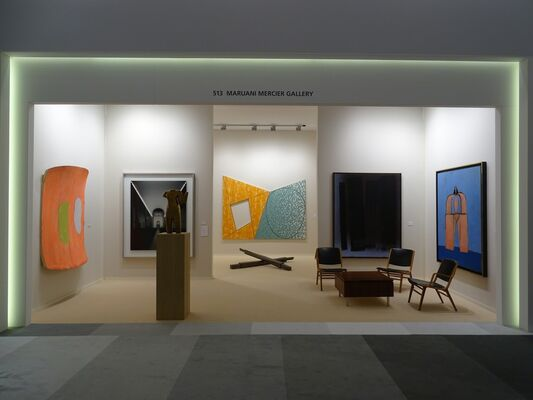 MARUANI MERCIER GALLERY at TEFAF Maastricht 2018, installation view