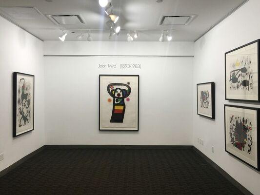 Joan Miró, installation view