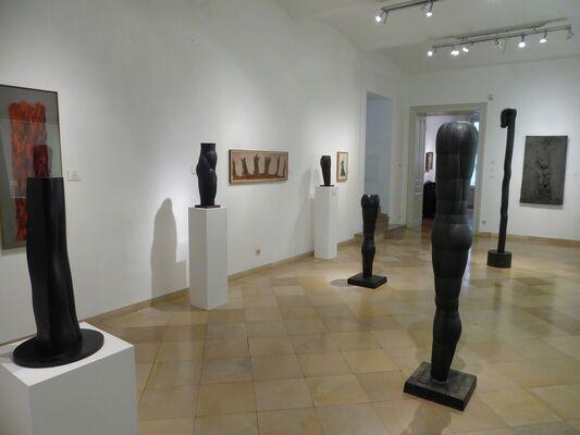 Joannis Avramidis: Sculptures & Paintings, installation view