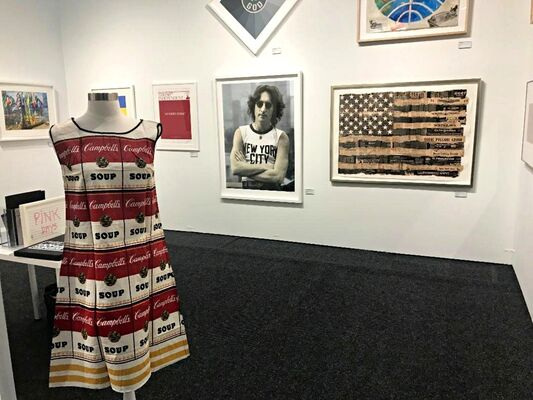 Alpha 137 Gallery at Art on Paper New York 2019, installation view