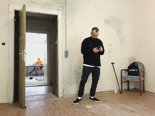 Muhannad Shono, installation view