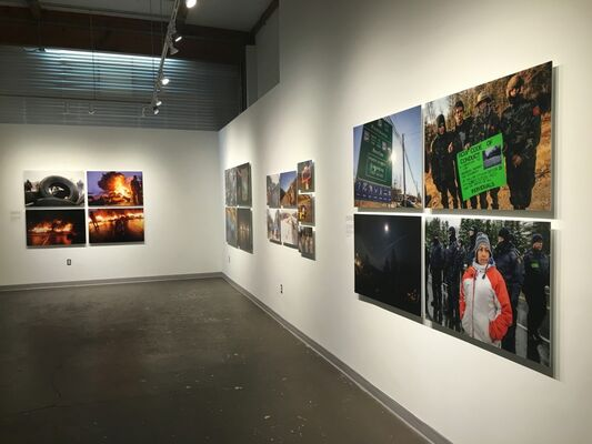 Water Warriors, installation view