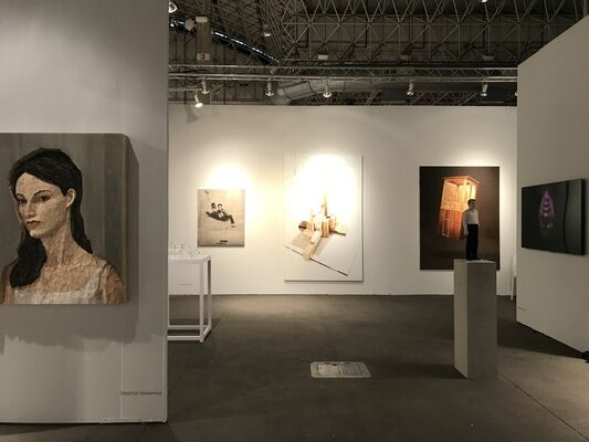 AKINCI at EXPO CHICAGO 2017, installation view