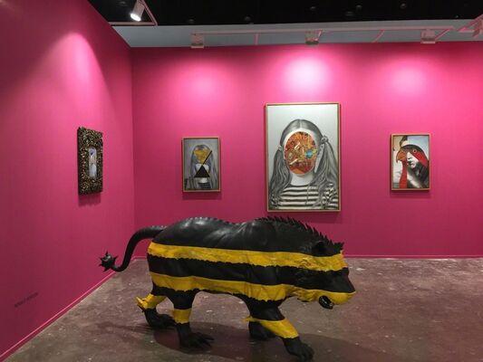 Primo Marella Gallery at Art Dubai 2019, installation view
