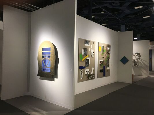 Galerie Hans Mayer at Art Basel in Miami Beach 2016, installation view