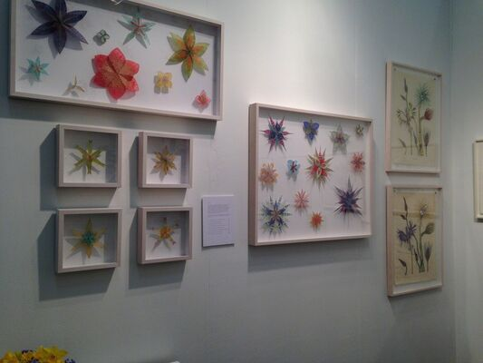 Kenise Barnes Fine Art at Art on Paper 2015, installation view