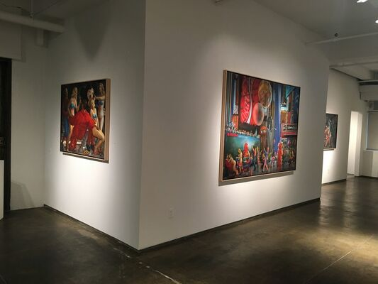 ME TOO: RECENT PAINTINGS, installation view