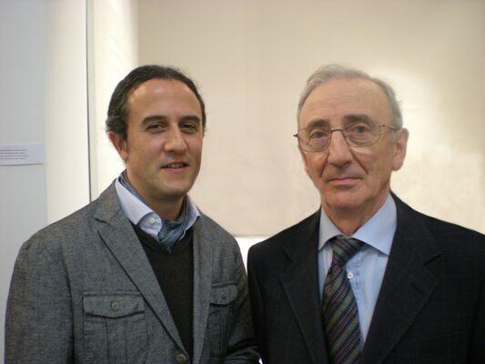 Agostino Bonalumi - Paolo Radi, installation view