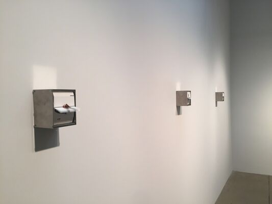 Juan Fontanive: Films Without Light, installation view