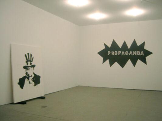 Damien Deroubaix, Gardar Eide Einarsson, Jakob Kolding, installation view