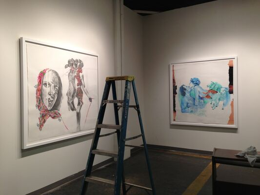 Select 4, installation view