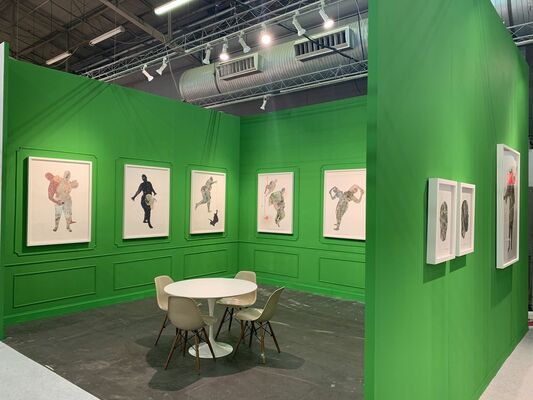 Mariane Ibrahim Gallery at The Armory Show 2019, installation view