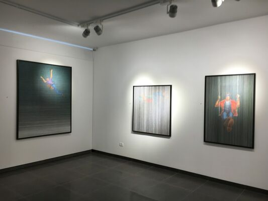 Fractured Time, installation view