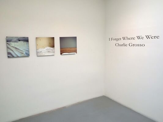 I Forget Where We Were, installation view