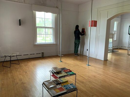 Reading Room | NADA House 2019, installation view