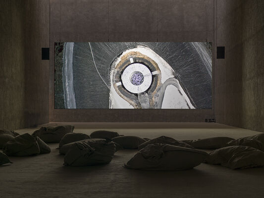 Julian Rosefeldt | IN THE LAND OF DROUGHT, installation view