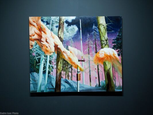 Life in the Lonely Wood, installation view